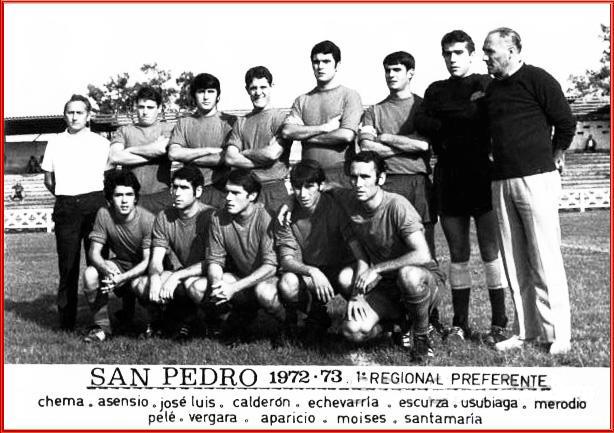 San Pedro. 1972-73.
